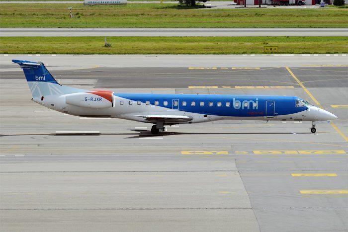 A BMI Regional Embraer ERJ-145