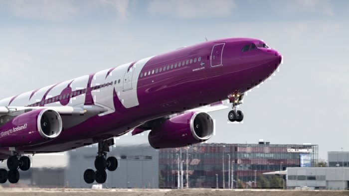 WOW air Airbus A320-232