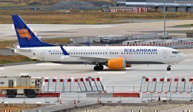 An Icelandair Boeing 737 MAX 8