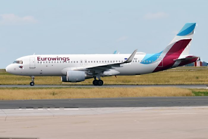 A Eurowings Airbus A320