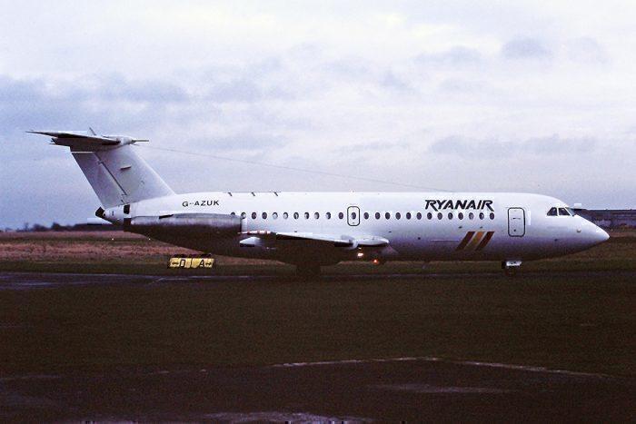 G-AZUK BAC1-11 Ryanair