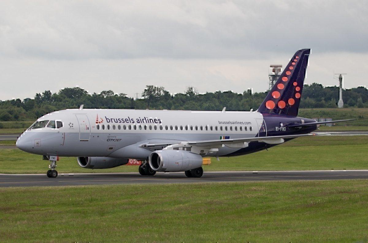 Brussels Airlines Sukhoi Superjet