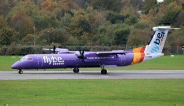 G-PRPN Dash 8-Q400 Flybe