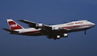 A Trans World Boeing 747-100