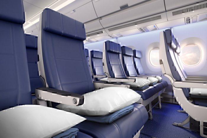 Delta economy A350