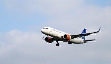 An SAS Airbus A320