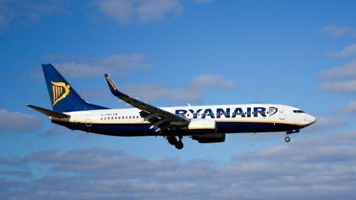 A Ryanair Boeing 737