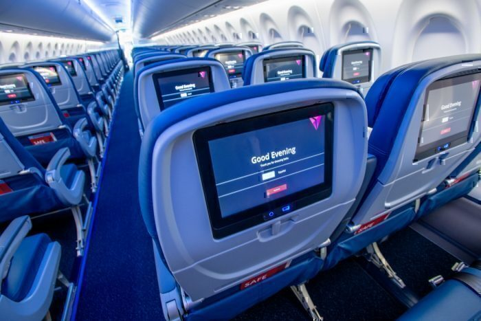 Delta Air Lines economy class