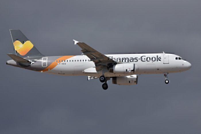 A Thomas Cook Airbus A320