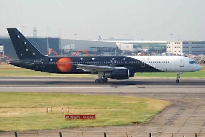 G-ZAPX Titan Air 757