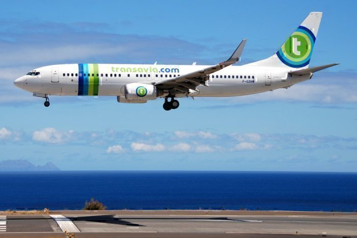 A Transavia Airlines Boeing 737