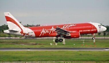 An AirAsia Airbus A320