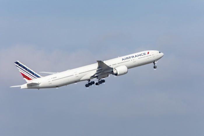 Air France jet take-off