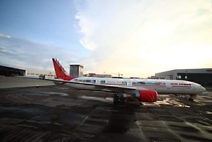 Air India 777 Special LIvery
