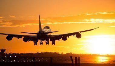 747 landing