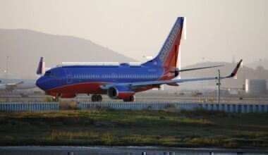 A Southwest Airlines Boeing 737 NG