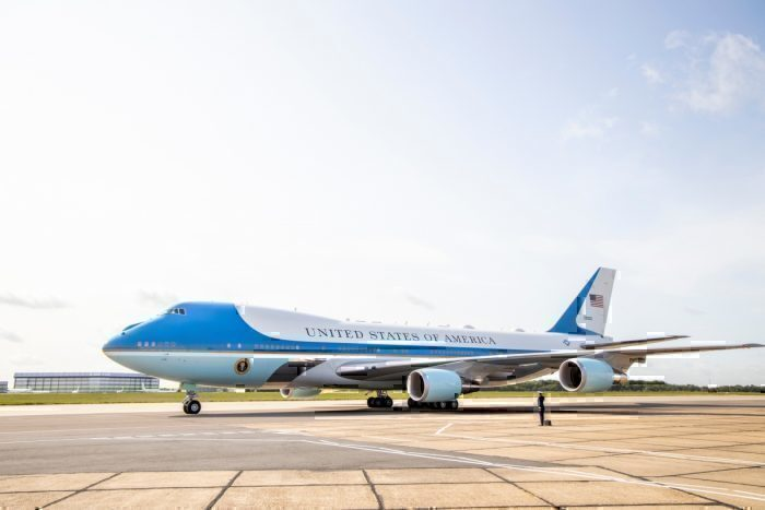 Air Force One London Stansted Airport