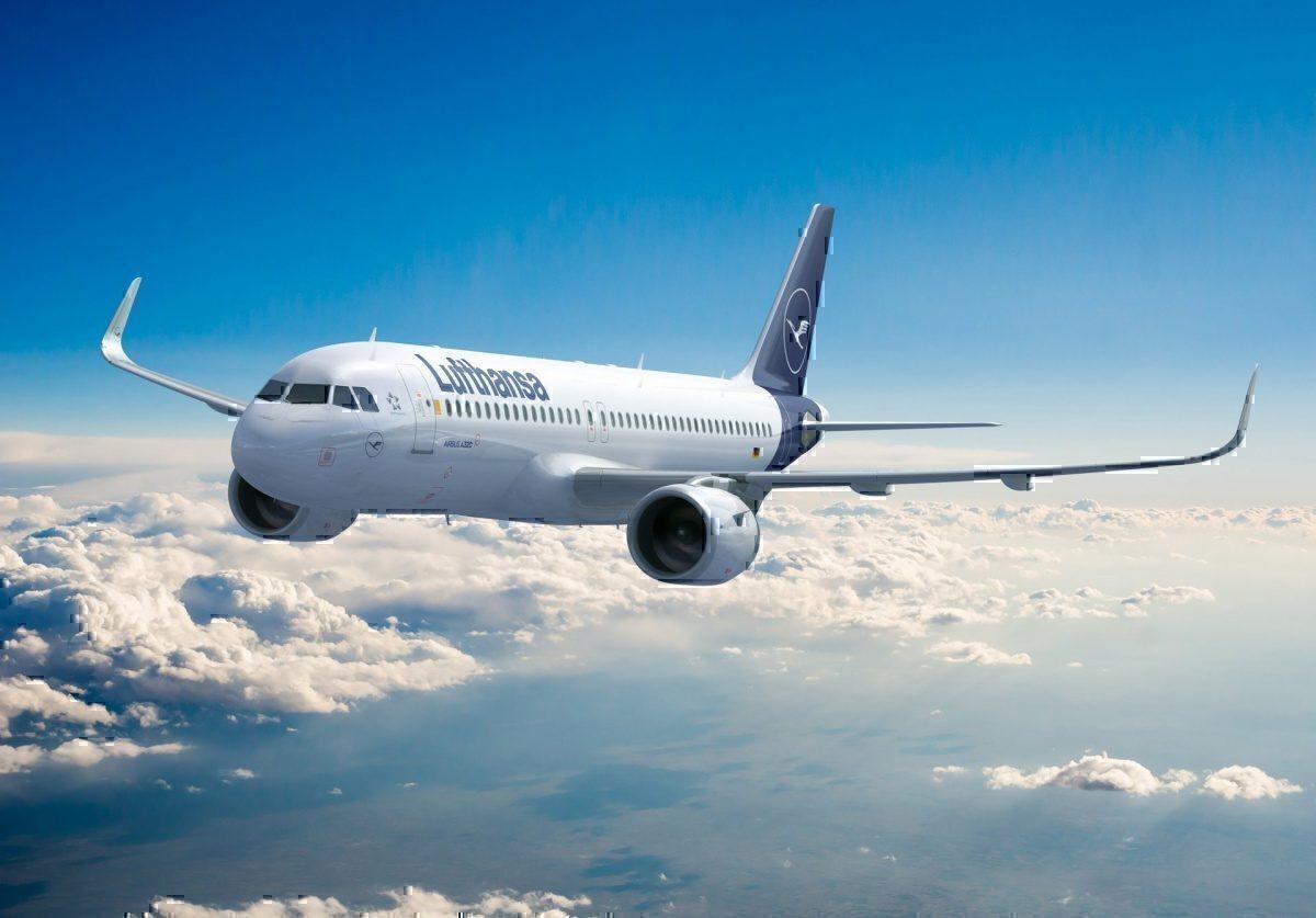 AK LUFTHANSA Airbus A320-200 Bremerhaven Airline Issue 90er Jahre nicht gelaufen