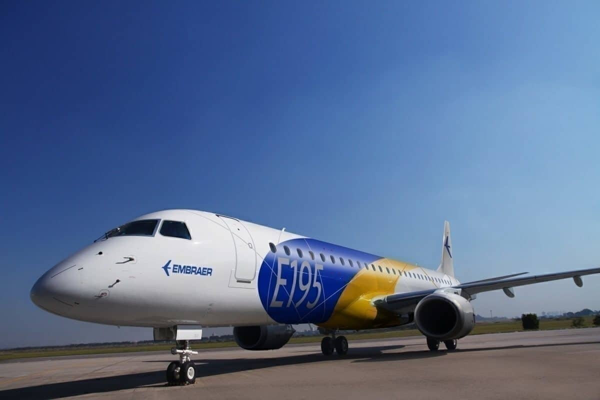Which Airlines Have Ordered Embraer's 195-E2?