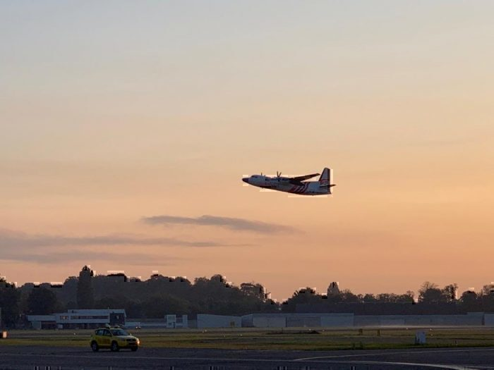 Air Antwerp take off