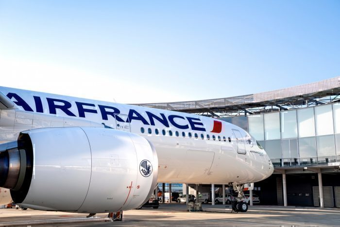 Air France A350 at Toulouse