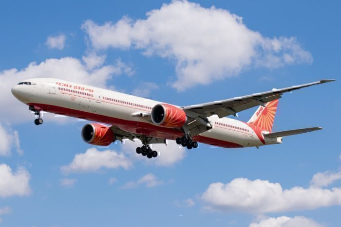 Air India, London Stansted, Amritsar