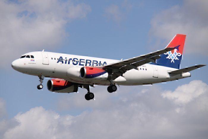Air Serbia Airbus A319 (YU-APC)