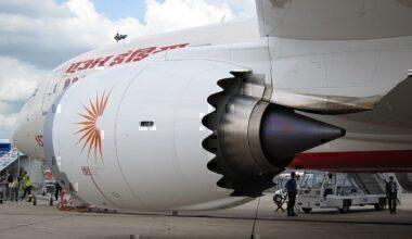 Air india 787 engine