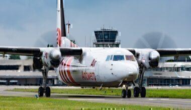 Air Antwerp Fokker F50