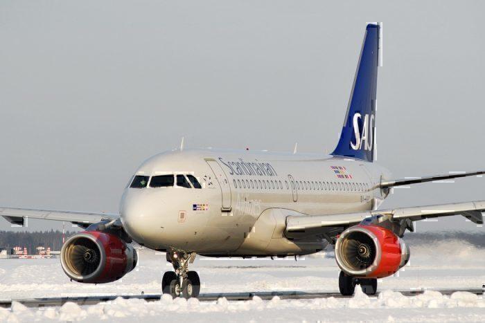 An SAS Airbus A319