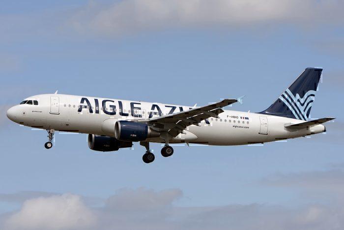 An Aigle Azur Airbus A320