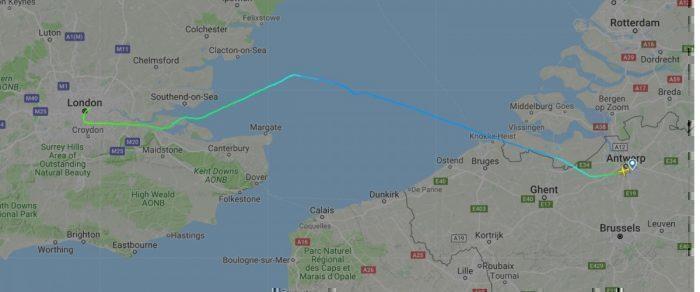 Antwerp to London