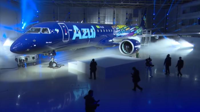 Azul E2 delivery