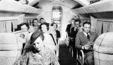 Interior view of a Pan Am Sikorsky S-43A