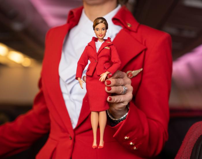 Barbie flight attendant