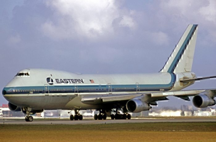Eastern Airways 747