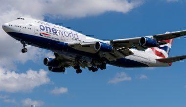 British Airways, London to Los Angeles, BA283