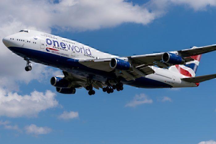 British Airways in Oneworld livery