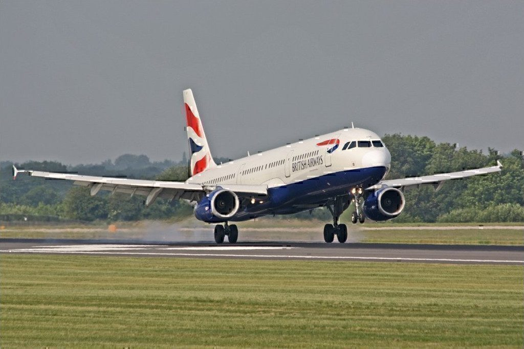 BA A321