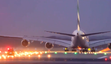 Car chases A380