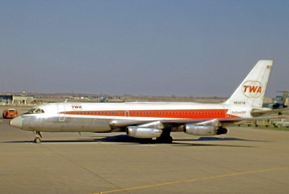 TWA Convair aircraft in 1971
