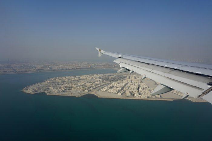 Bahrain came into view