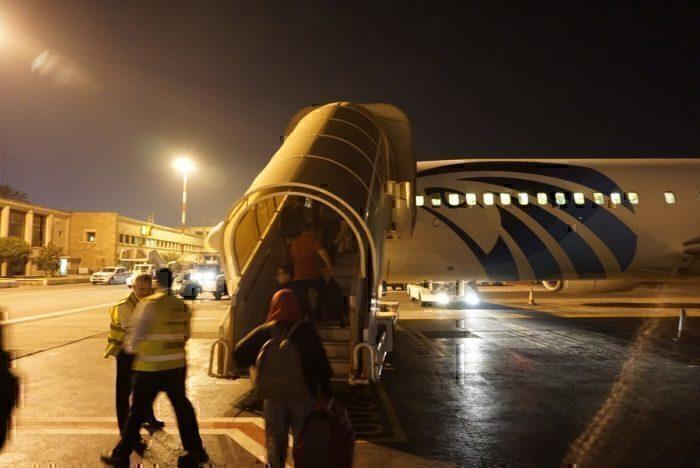 Egypt Air 737-8