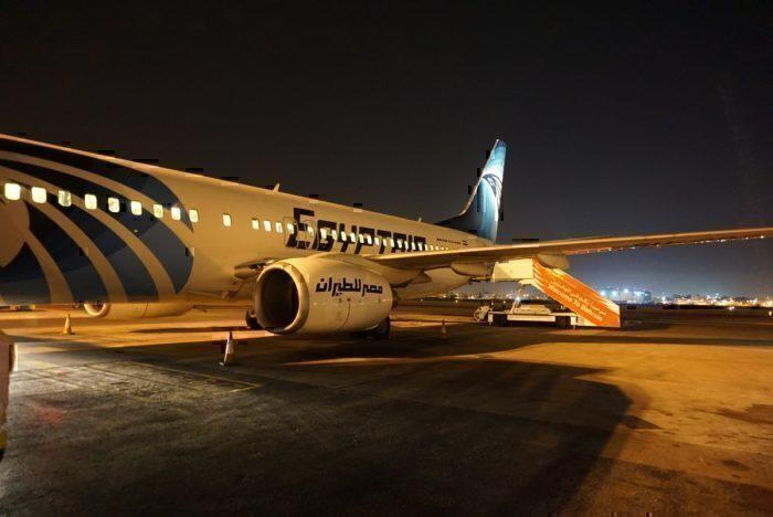 Egypt Air 737-800