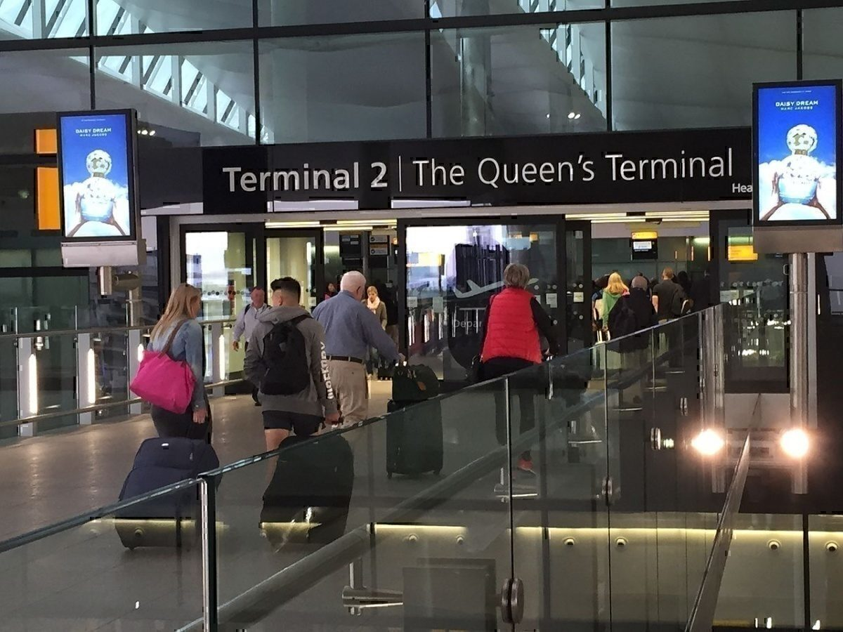 LHR T2 Departure hall