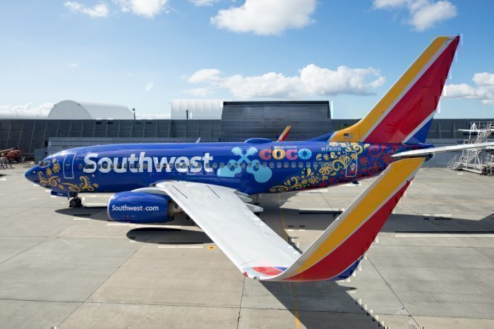 Southwest Airlines Coco Livery