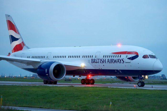 British Airways Boeing 744