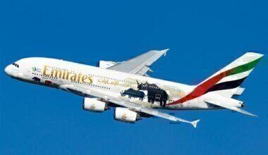 Emirates Airline A380 Rhino