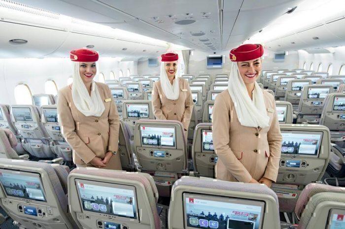 Emirates Airline non-UAE cabin crew