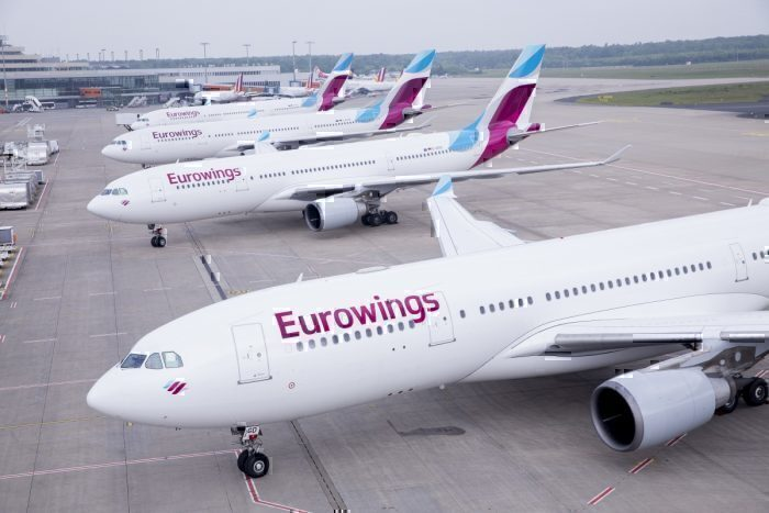 Eurowings A330s
